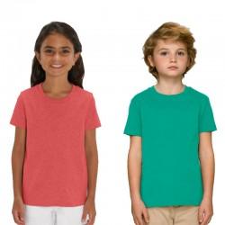 Camiseta KIDS de algodón bio y producciónética