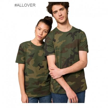Camiseta orgánica unisex all over print