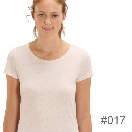 Camiseta ecológica de algodón 120gr de mujer _017