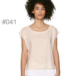 Camiseta orgánica oversiza mujer_041F
