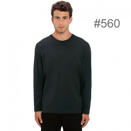 Camiseta algodón orgánico manga larga  180gr_560
