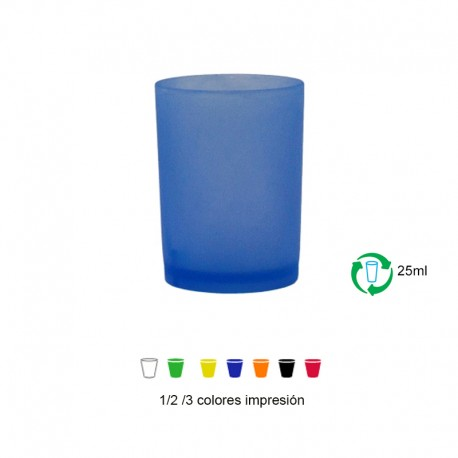 Vasos reutilizables 25ml