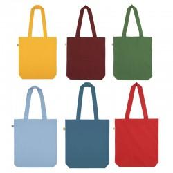 Bolsa 100% algodón orgánico GOTS y Fairwear gruesa 170gr  y producción ética de colores