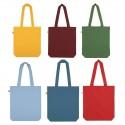 Bolsa 100% algodón ecológico gruesa 170gr  y producción ética de colores