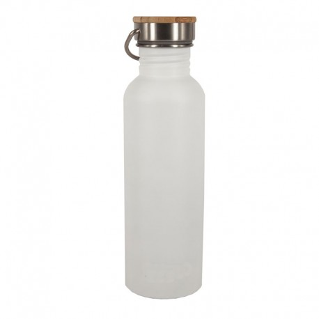Botella de agua sostenible para reducir el consumo de plásticos. REUTILIZABLE. 500ml