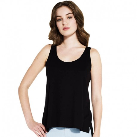 Camiseta tirantes de TENCELL Mujer _E44