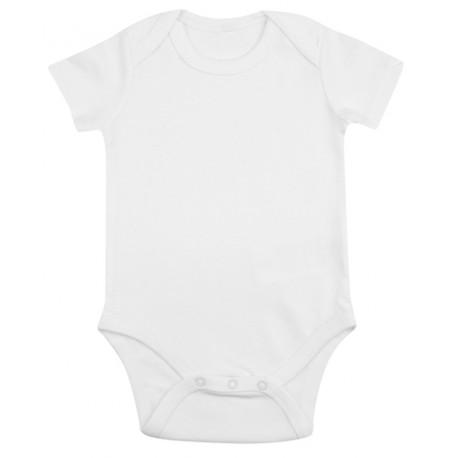 Body ecológico bebé manga corta