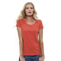 Camiseta orgánica loves 120 mujer