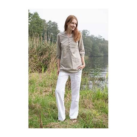 Pantalon de lino ecologico