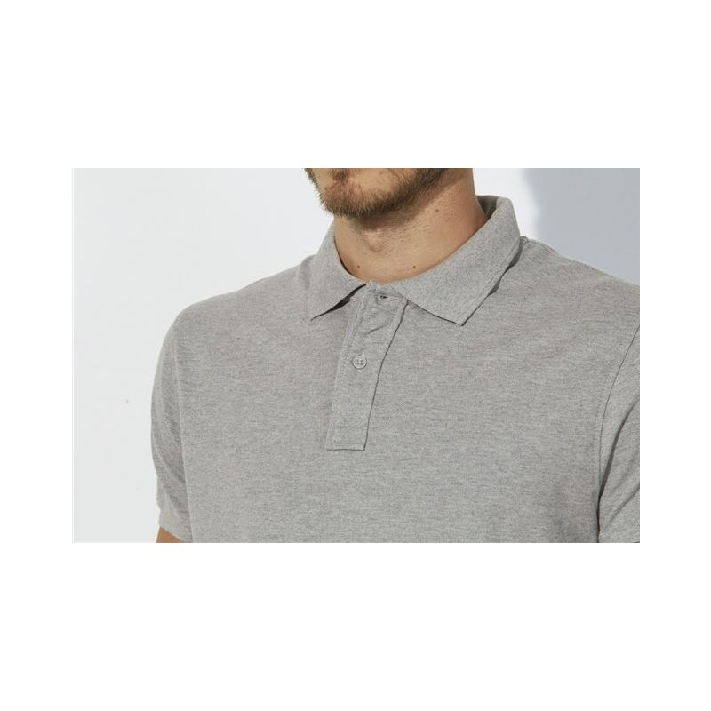 Polo piqué de algodón orgánico para hombre - Ropa ecológica dcf778247d169