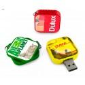 Memorias USB de plástico y aluminio reciclado