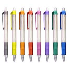 Boligrafo Biodegradable Transparente