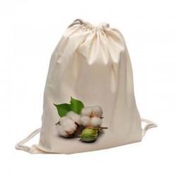 Mochila de algodón orgánico Gots y Fairtrade