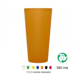 Vasos reutilizables 380ml