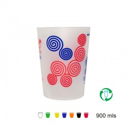Vasos reutilizables 900ml