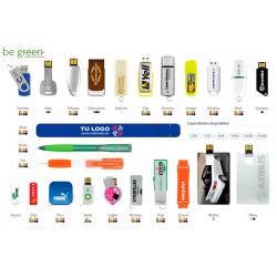 Memorias USB reciclada