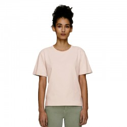Camiseta orgánica gruesa boxy mujer 200gsm